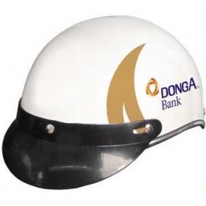 Mẫu nón bảo hiểm quảng cáo ngân hàng Đông Á