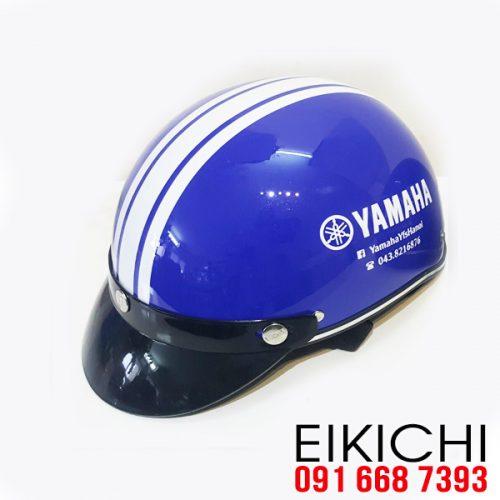 Mẫu nón bảo hiểm đại lý Yamaha làm quà tặng ở TPHCM xưởng sản xuất EiKiChi
