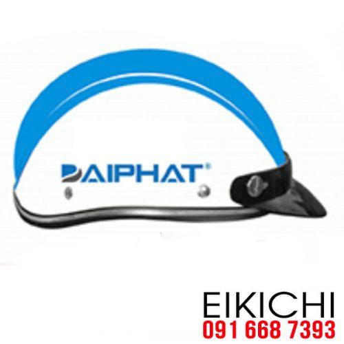 Mẫu nón bảo hiểm quảng cáo Đại Phát ở TPHCM xưởng sản xuất EiKiChi