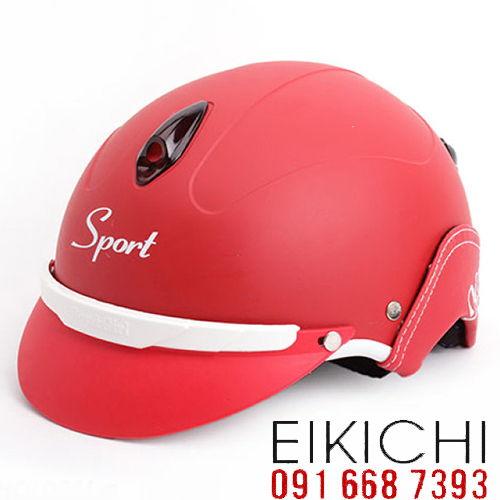 Mẫu nón bảo hiểm Sport làm quà tặng ở TPHCM xưởng sản xuất Eikichi