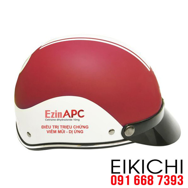 Hình ảnh: Nón bảo hiểm quảng cáo Công ty EzinApc