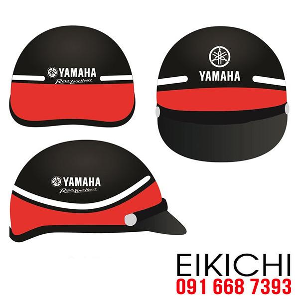 Hình ảnh: Nón bảo hiểm quảng cáo hãng xe Yamaha RYH