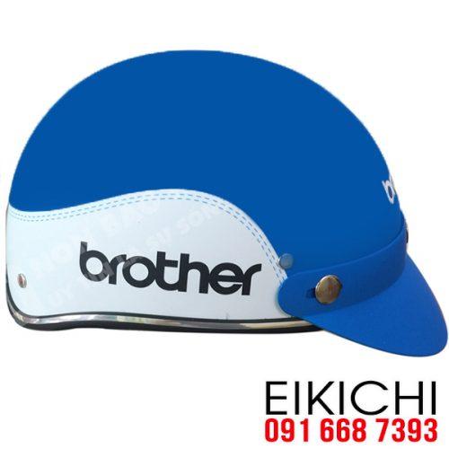 Mẫu nón bảo hiểm quảng cáo Brother ở TPHCM ở TPHCM xưởng sản xuất EiKiChi