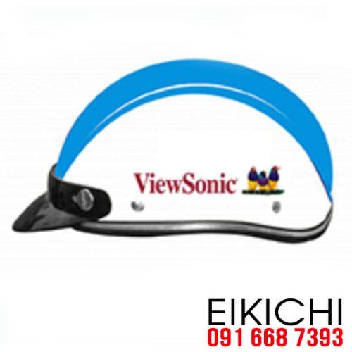 Mẫu nón bảo hiểm quảng cáo ViewSonic ở TPHCM xưởng sản xuất EiKiChi