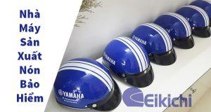 Nhà máy sản xuất nón bảo hiểm đẹp - chất lượng - giá hợp lý