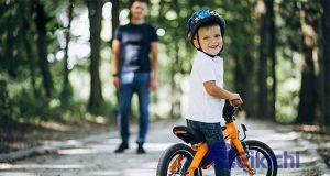 Những lưu ý khi mua nón bảo hiểm và cách đội mũ đúng cho trẻ em